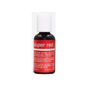 colorante chefmaster liquid gel color rojo 0.70oz
